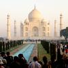 アグラにてタージマハール建築編①〜インドの旅行記