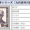【切手買取】文化人切手シリーズ vol.6 九代目市川團十郎