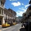 2010年 エクアドルの首都 世界遺産のキトの街
