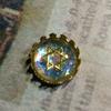 ヘキサゴンのオパール風カボション opal-like cabochon with hexagon