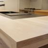 注文住宅WEB内覧会 木製造作キッチン。