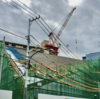#329 賃貸住宅の展示施設「ROOFLAG」の建設進む 江東区東雲、2019年12月
