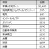 海外駐在員(北米/NY)の一ヶ月の家計簿/支出 2019年3月期