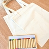 【無印良品の布用クレヨン】敬老の日に子どものイラスト入りバッグを手作りしました。