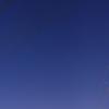 明け方の空、南と東