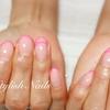 ピンクカラーのネイルデザイン♪
