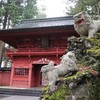 [富士山旅行④]雨の日は神社巡り。そして、アウトドアショップも