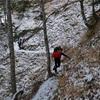 12月の空木岳登山① 駒ケ根高原スキー場 ⇒ 空木平避難小屋まで