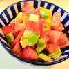 【1食72円】アボカドとトマトとチーズのわさびマヨサラダの自炊レシピ