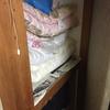 【不要品処分】押し入れの布団やヒーターや掃除機などの処分 ‐兵庫県三田市‐