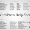 記憶力に自信がない人がWordPressをサクサクと使えるようになるためのチートシート5個+7記事。