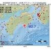 2016年09月27日 03時46分 土佐湾でM2.7の地震