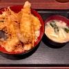🚩外食日記(144)    宮崎ランチ   「武蔵野天ぷら道場」④より、【天丼】‼️