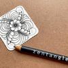 【Zentangle】To You Tangle ウォームアップ