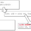 LLVMのバックエンドを作るための第一歩 (22. RISC-Vに存在しないパタンをどのように命令生成するか)