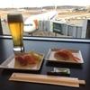 ラウンジでお寿司!成田空港国際線のANA LOUNGEに入ってみた!