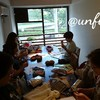 レッスンレポート)9/22本川町教室 靴下編みに苦戦中