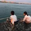 ブラックサンダーあんまきと浜名湖の釣り 2018年9月25日 その2