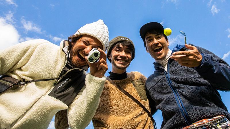 ニューゴルフのお手本にしたい!アウトドア系のお洒落テク