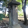 藤崎宮内の沢村大学助奉納の石灯籠