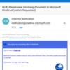 OneDrive を騙るフィッシング メールに注意