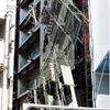 姫路駅前で建設中ビルの足場が倒れた!?