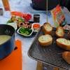 アウトドア料理にお勧め!チーズフォンデューで冷えた体と心が温まる一品