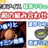 【レシピ】黒ごまアイスと抹茶のソース!お家でカフェ風デザート 第一弾!