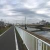 利根運河から利根川へ