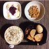 おでん、小粒納豆、フルーツヨーグルト。