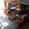 木工教室の準備