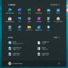 Windows 11 スタートボタンを左揃えにできるようです