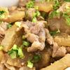 豚肉と大根の味噌炒め。