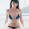 横山あみ【B85 Eカップ現役女子大生アイドルの水着画像】