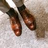 本日の革靴 クロケットアンドジョーンズ ベルグレイブ