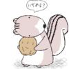 あの大きくてかわいいシマリスの尻尾、、、実は、、、
