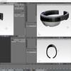 Blenderで3Dモデルに法線マップを適応する