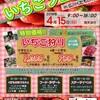 【出展,出演情報】4/15いちごフェア(八女市広川町)