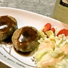 ハンバーグ(中国妻料理)
