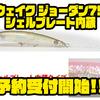 【ハンクル】キラキラとバスを誘うミノー「ウェイク ジョーダン75シェルプレート内蔵」通販予約受付開始!