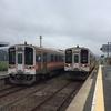 全線復旧から1年半経った名松線に乗車する