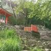【ゴトビキ岩】は熊野の神様降臨の地「神倉神社」へのほぼ絶壁な階段を登る