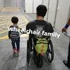 ママ白目!?やってやれないことは無いっ!車椅子パパの幼児を連れて車中泊の旅