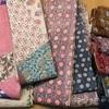 タッサーシルクの半巾帯など入荷しました!