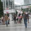 東京ドームで巨人−広島戦観戦
