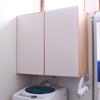 洗面所のタオル収納整理