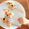 材料3つ!作業時間10分★簡単バナナグラノーラアイスポップを作ってみました♪小さな子供とも一緒に作れる簡単ヘルシーおやつです♪
