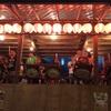 囃子太鼓のお稽古、頑張ってます。