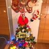 クリスマスツリーから始めます。インテリア紹介