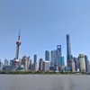 近代V.S.伝統:上海の建物コントラスト